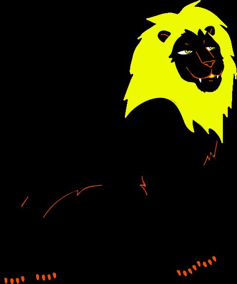 Pictogramme Lion