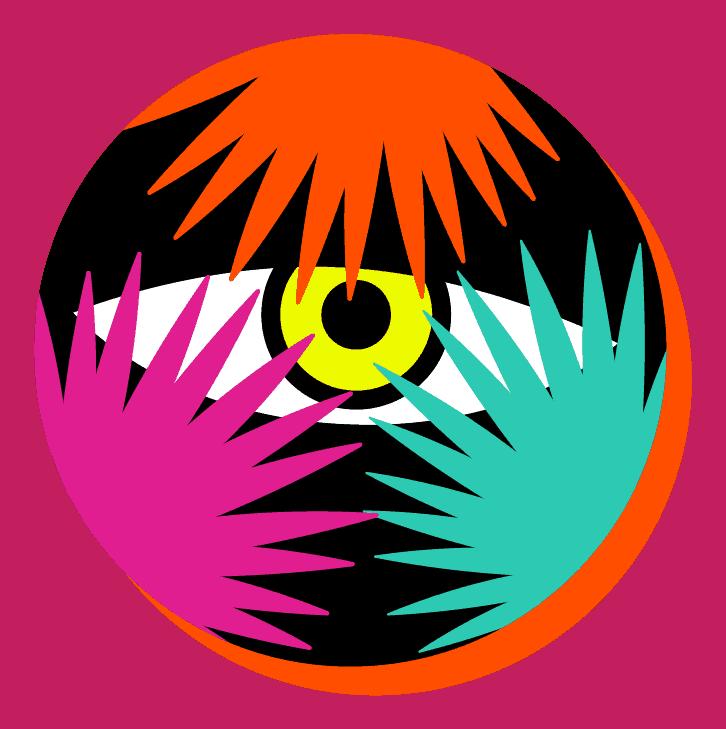 Pictogramme oeil de Lion caché