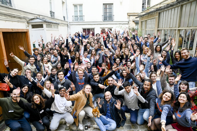 Photo de groupe de nos étudiants